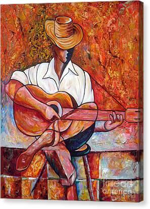 My Guitar Canvas Print by Jose Manuel Abraham