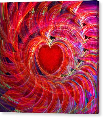 My Heart Is All A Flutter Canvas Print by Michael Durst