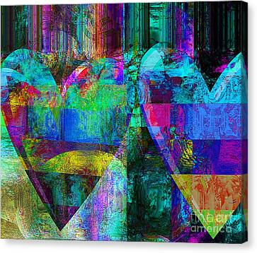 My Heart Is Yours Canvas Print by Fania Simon