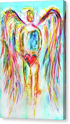 My Heart Canvas Print