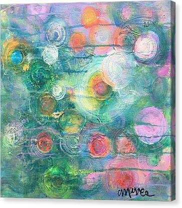 Canvas Print featuring the painting My Heart Will Find You by Laurie Maves ART