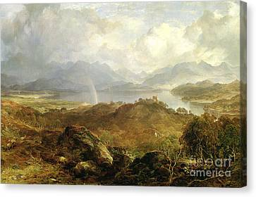 My Heart's In The Highlands, 1860 Canvas Print