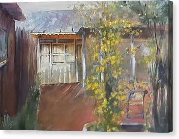 My Home In The Eavning Canvas Print by Vali Irina Ciobanu