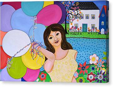 My Inflated Passion Canvas Print by Pristine Cartera Turkus