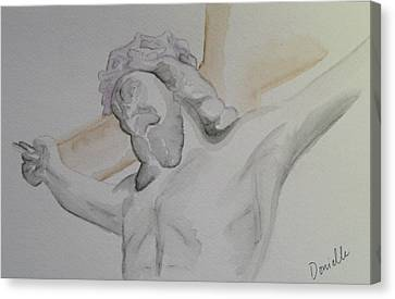 My Jesus Canvas Print by Donielle Boal