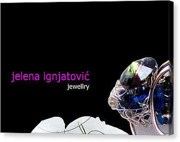 My Jewelry   Canvas Print by Jelena Ignjatovic