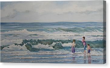 My Kind Of Beach Boys Canvas Print by Jenny Armitage