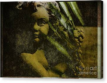 My Little Angel Canvas Print by Susanne Van Hulst