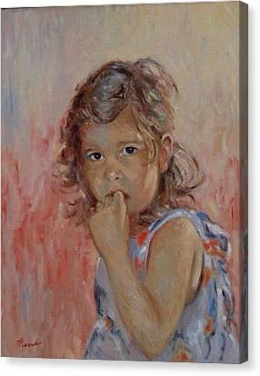 My Little Baby  Canvas Print by Pierre Van Dijk