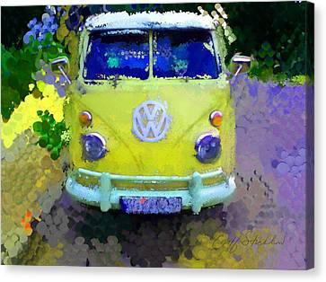 My Magic Bus Canvas Print