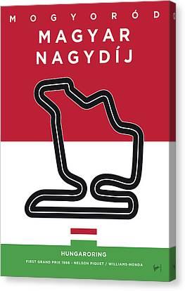 My Magyar Nagydij Minimal Poster Canvas Print