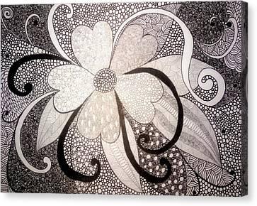 My Mood Canvas Print by Nigina Kanunova