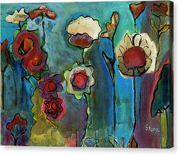 My Mother's Garden Canvas Print by Susan Stone