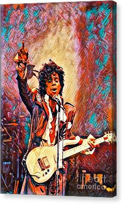 My Name Is    -  Prince Canvas Print