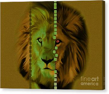 My Name Is Cecil Lion King Of Simbawe Canvas Print by Felix Von Altersheim