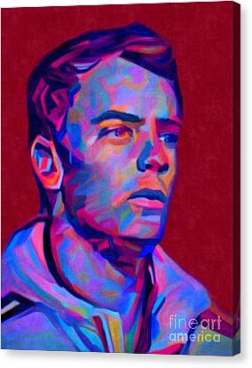 My Name Is Manuel Neuer Canvas Print by Felix Von Altersheim