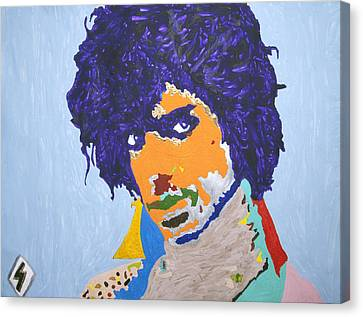 My Name Is Prince  Canvas Print
