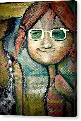 My New Shades Canvas Print