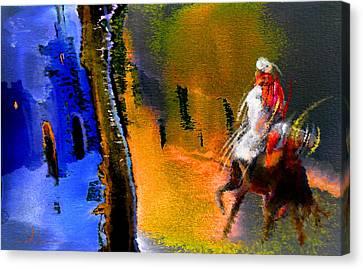 My Oasis Canvas Print by Miki De Goodaboom