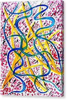 My Osu Experience Canvas Print by Beth Akerman