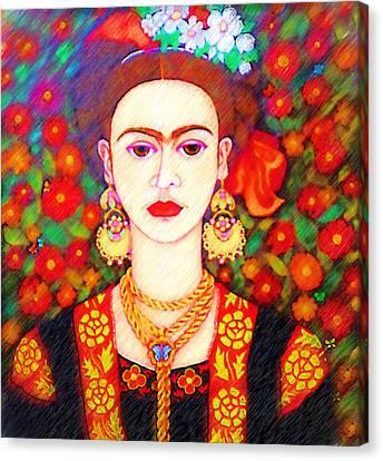 My Other Frida Kahlo Canvas Print