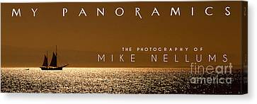 My Panoramics Coffee Table Book Cover Canvas Print