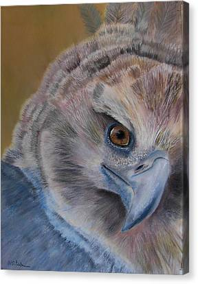 Canvas Print featuring the painting My Point Of View by Ceci Watson