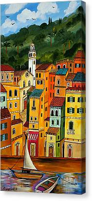 My Portofino Canvas Print by Roberto Gagliardi