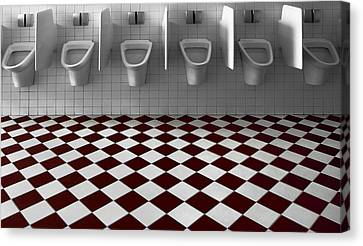 My Private Toilet... Canvas Print by Gilbert Claes