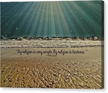 My Religion Canvas Print by Trish Tritz