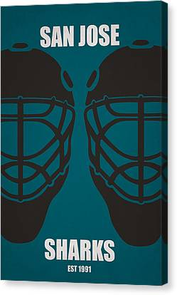 My San Jose Sharks Canvas Print by Joe Hamilton