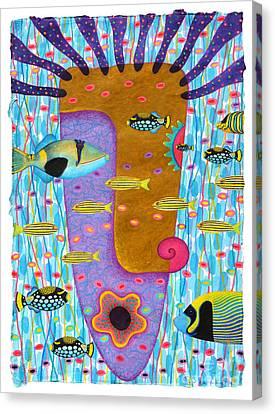 My Self  2 Canvas Print by Opas Chotiphantawanon