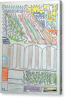 My Side Yard Canvas Print