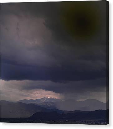My Sky View 3 Canvas Print by Kae Cheatham
