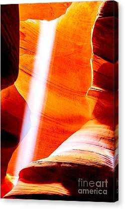 My Solitaire Canvas Print by Az Jackson