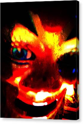 Horror Canvas Print - ...my Soul To Take by Nick Young