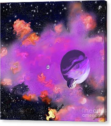 My Space Canvas Print - My Space by Methune Hively
