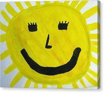 My Sunshine Canvas Print