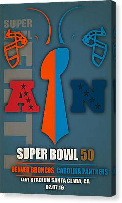 My Super Bowl 50 Denver Panthers 3 Canvas Print