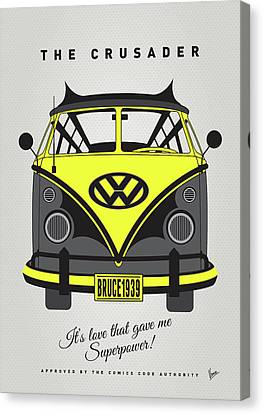 My Superhero-vw-t1-batman Canvas Print by Chungkong Art