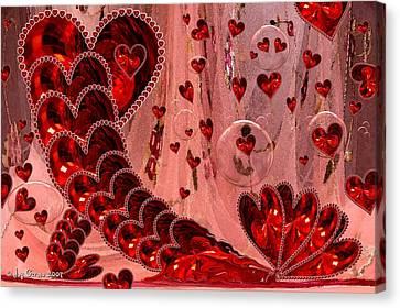 My Valentine Canvas Print by Joy Gerow