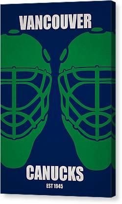 Vancouver Canvas Print - My Vancouver Canucks by Joe Hamilton