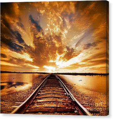 My Way Canvas Print by Jacky Gerritsen