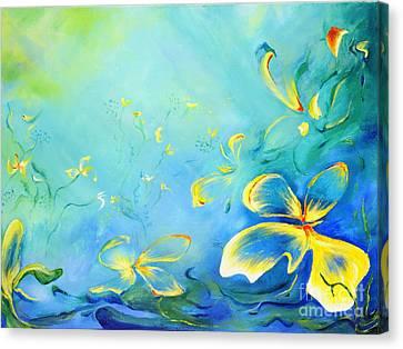 My World Canvas Print by Teresa Wegrzyn