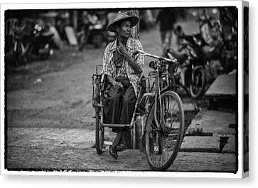 Myanmar Lost In Time 14 Canvas Print by David Longstreath