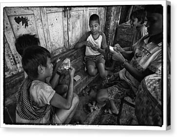 Myanmar Lost In Time 15 Canvas Print by David Longstreath