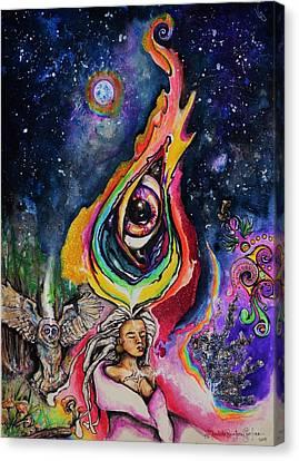 Mycelial Universe Canvas Print