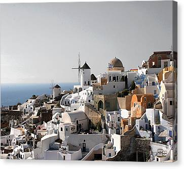 Mykonos Greece Canvas Print by Jim Kuhlmann