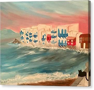 Mykonos  Canvas Print by My Art