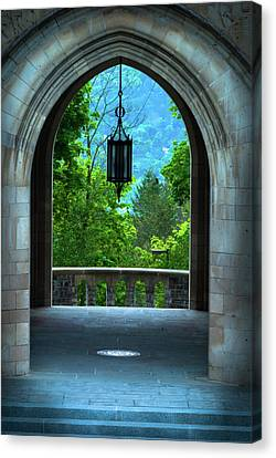 Myron Taylor Hall, Law School Of Cornell University Canvas Print by Optical Playground By MP Ray